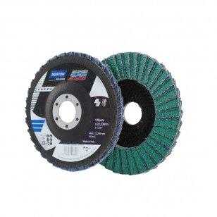 Norton Žiedlapinis diskas R822/RX22 125x22 P40 SB4 Super Bleue Duo (Norstar) METAL/INOX
