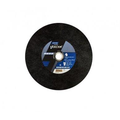 Norton pjovimo diskas A30S-BF41 350x3.5x25.4 VULCAN METAL