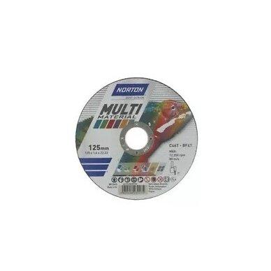 Norton pjovimo diskas C46T-BF41 230x1.9x22.23 Multi material