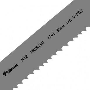 Pjovimo juosta metalui PILA M42-431 34x1.1x4120 4/6 M V-POS
