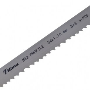 Pjovimo juosta metalui PILA M42-461 34x1.1x4200 4/6 P V-POS