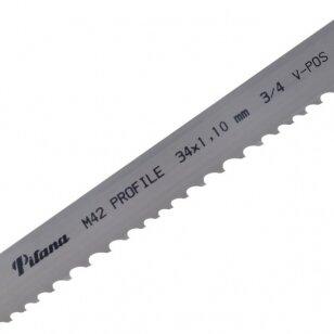 Pjovimo juosta metalui PILA M42-461 34x1.1x4960 3/4 P V-POS