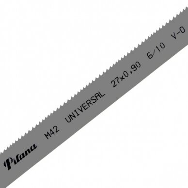 Pjovimo juosta metalui PILA M42-430 27x0.9x3810 10/14 U V-0