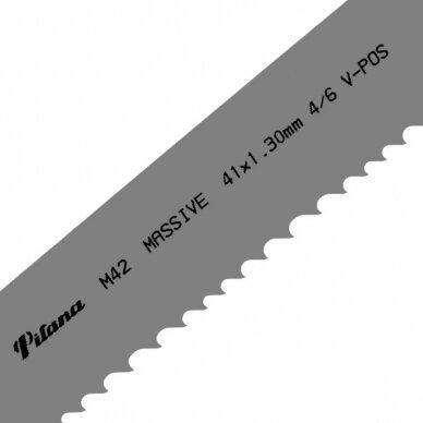Pjovimo juosta metalui PILA M42-431 41x1.3x6040 4/6 M V-POS
