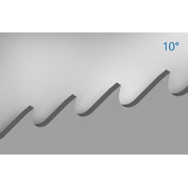 Pjovimo juosta metalui PILA M51-531 27x0,9x2465 4/6 M V-POS PROFILE 2