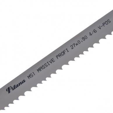 Pjovimo juosta metalui PILA M51-531 27x0,9x2465 4/6 M V-POS PROFILE