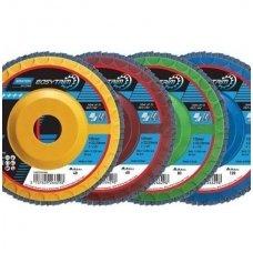 Apšlifuok ir dirbk toliau su šiais ilgaamžiais žiedlapiniais diskais