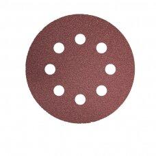 VSM Kibus šlifavimo diskas S0/KP131K 125x22 P60 Velcro, 8 skylių